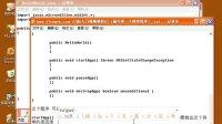 J2ME入门视频教程02(编写第一个简单程序)
