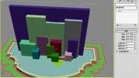 3dmax渲染教程 3dmax视频教程3创建玻璃幕墙-3