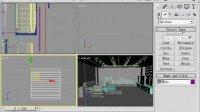 3Dmax室内设计家庭装修实例视频教程8.客厅设计客厅设计方案 1[NoDRM]-客厅设计-2