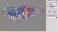 模型导入3dMAX并进行调整