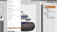 [PS]PhotoshopCS4教程 60.3D图层的应用.avi
