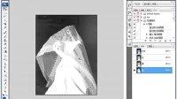 PS实例08超简单抠婚纱方法