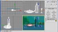 史上最强3Dmax室内设计家庭装修实例视频教程5.室内装饰物建模[NoDRM]-玻璃器的制作-2