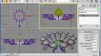 史上最强3Dmax室内设计家庭装修实例视频教程6.现代灯饰设计[NoDRM]-客厅吸顶灯的制作-
