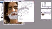 PS人物数码照片技法大全--12 为面部添加胡须