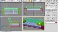 室内设计教程--3dmax视频教程-家具设计-真皮沙发的制作-第四节