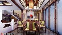 北京中式别墅装修效果图-东方神韵中式设计