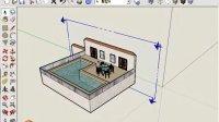 2、SketchUp操作界面基本视图设置方法