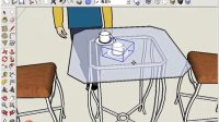 SketchUp物体变换工具