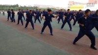 河北工程大学2013届军训汇报表演武警方队群压海军方队