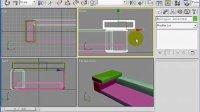 室内设计教程--3dmax视频教程-家具设计--真皮沙发的制作-第二节