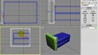 3Dmax系列视频教程1.3dsmax室内制图基础-19.利用基本物体创建模型