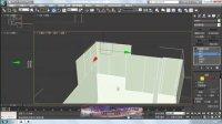3Dmax房体建模视频 3dmax基础教程 单面建模