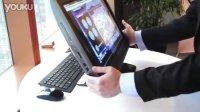惠普设计可倾斜在桌面上的PC