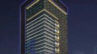 办公楼亮化 亮化效果图 LED动画设计 酒店亮化 楼体亮化工程