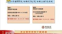 理财大赢家 2013 贵金属投资有了新渠道 131004
