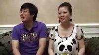 娱乐快报:李湘身穿熊猫裙期待宝宝健康出生