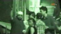 曹格与侧田在香港街头大打出手