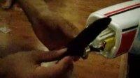 菲摩斯赛斯纳206T四通道电动无刷3D遥控飞机的螺旋桨安装视频--玩转世界模型店