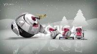 NO.0529 idobe 圣诞节新年创意片头机器人AE模板
