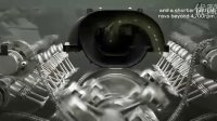 2010款路虎新LR-V8汽油发动机三维演示