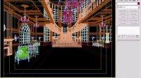 3ds Max VRay 商业大空间效果图表现技法 欧式大厅 测试与渲染
