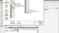 Flash CS4视频教程-4.1.1导入位图