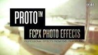 FCPX插件 PROTO 复古照片调色预设插件 Final Cut Pro X