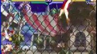 街机游戏 少年街霸 三代  樱花 通关爆机