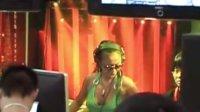 北京美女DJ Tara的DJ表演
