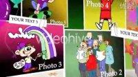 Videohive 810-星星非编素材-儿童生日AE片头