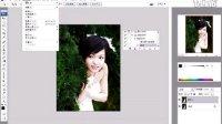 [PS]Photoshop CS4时尚杂志婚纱设计之婚纱照片制作高级基础4.7 如何使用批处理提高效率