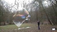 巨无霸肥皂泡 超级大的肥皂泡
