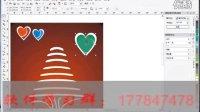 广告包装设计 企业VI设计 宣传单 ---CDR制作圣诞贺卡 coreldraw