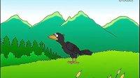 flash儿童动画故事《乌鸦喝水》 高清