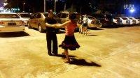 海口市交谊舞协会三步踩铜牌教学