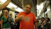 百度胖老师吧胖老师在地铁用德语和德国女生交流