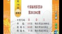 中国福利彩票3D第2012042期开奖结果[新一天]