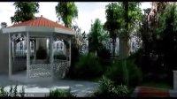马山寨62#别墅景观设计动画演示
