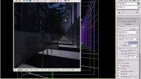 3ds Max VRay 商业大空间效果图表现技法 夜晚布光测试及渲染