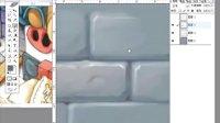 游戏兵工厂教学--游戏美术设计Q版石墙的绘制