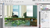 3D教程 3dmax 3dmax教程视频3dmax亲水平台试学后期部分04课