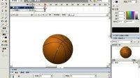 FLASH案例教程-运动的篮球