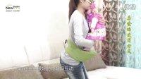 纽贝乐多功能婴儿腰凳 抱婴腰凳 双肩宝宝背带坐櫈腰登 抱凳视频