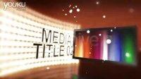 高清AE片头模板 选辑11 - 290 极品LED炫光三维空间多图片花