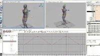 maya制作行走循环2by十月数码(北京)动画