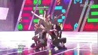 100821 音乐中心 韩国最小的组合现场劲舞