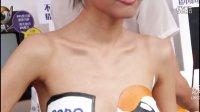微拍福利BenQ宣传活动靓模人体彩绘