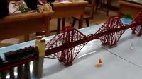 西安建筑科技大学艺术设计09级中外著名建筑模型 (给力)福斯桥