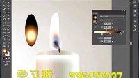 AI视频教程_AI教程_AI实例教程_插画篇_蜡烛的柔光之美